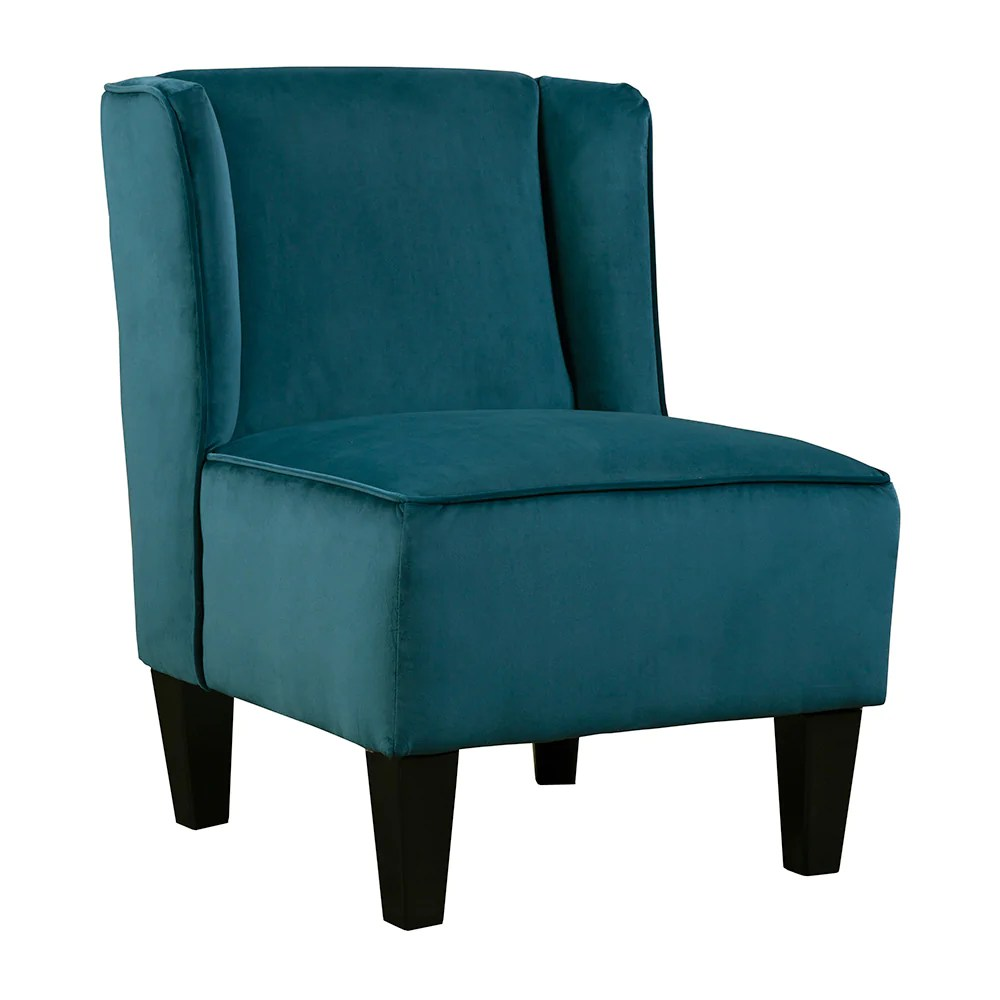 teal club chair folding quad with footrest chairs chapter 3 furniture charlie winged slipper