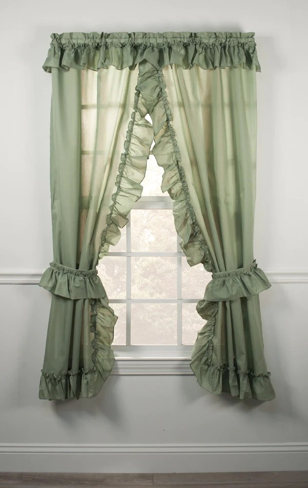 priscilla curtains living room small apartment lighting ideas ruffled country window toppers images 1 2