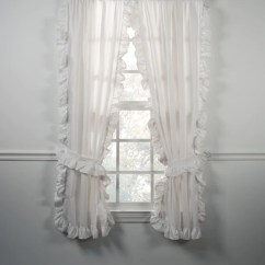 Country Kitchen Chair Cushions Herbs And Spices Cottage White Ruffled Cape Cods Window Curtains ...
