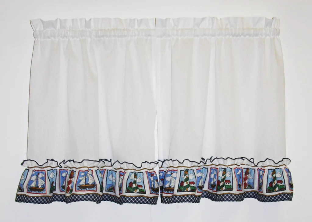 And Swags Curtains Lighthouse