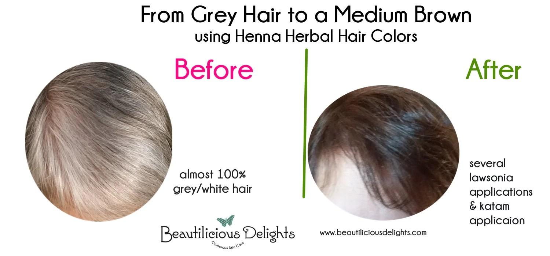 dye your gray hair