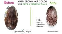 Dye your Gray Hair Chocolate Brown using Henna! Henna ...