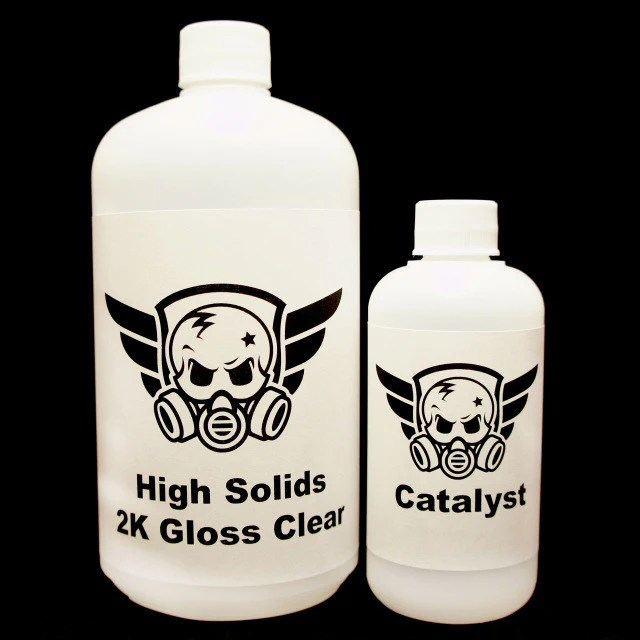 clear coats for hydrographics