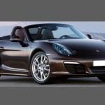 Porsche Boxster Cayman 987 2004 2012 Rear Qtr Wing Black Texture Aliath