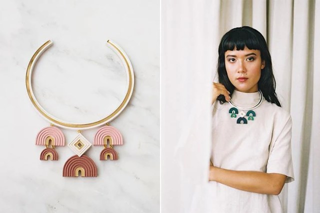 Wolf & Moon's combination of product photography with and without models