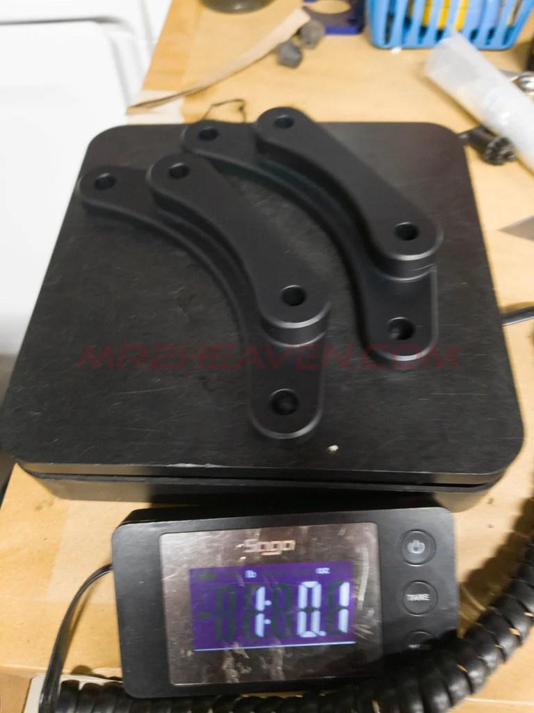 medium resolution of  sw20 mr2 front big brake kit bracket for wilwood forged superlite caliper 13