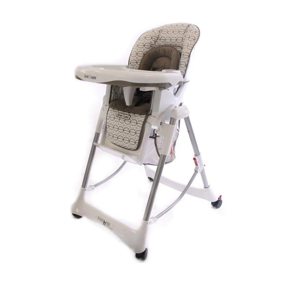Egg Baby High Chair Love N Care Deluxe Techno Baby Feeding Chair