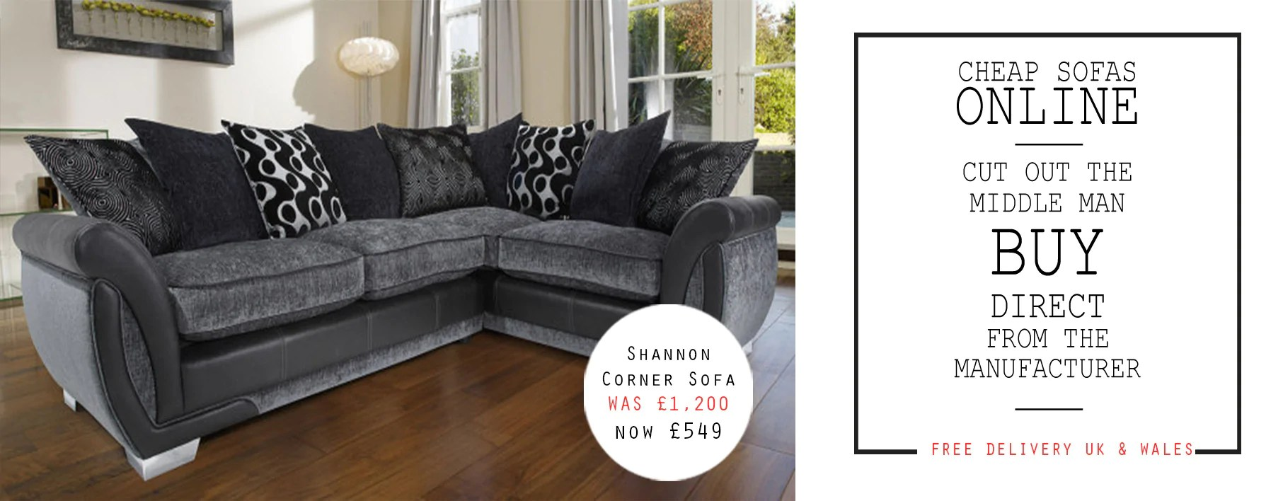 sofas direct from factory uk average sofa height seat cheap manufacturer homeminimalist co wales mjob blog