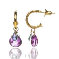 Tiny Hoop Earrings  Sophie Harley London
