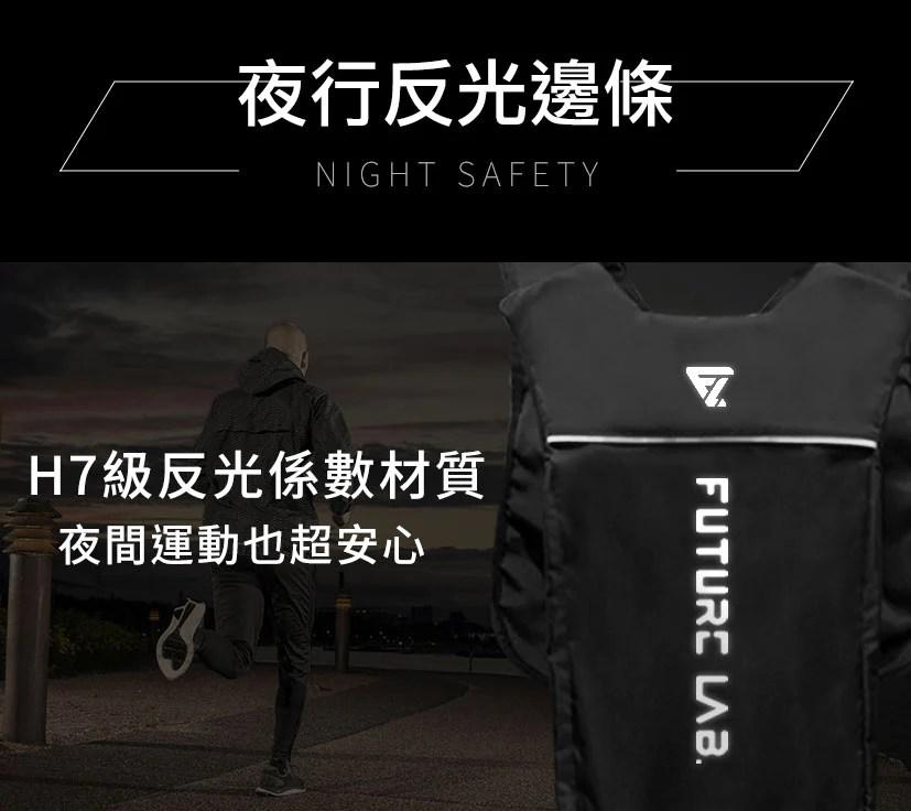 FutureLab-UrbanAgent都市特工包-夜行反光背條