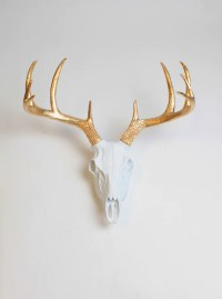 Faux Antler Wall Decor,Deer Skulls, & Resin Deer Antlers