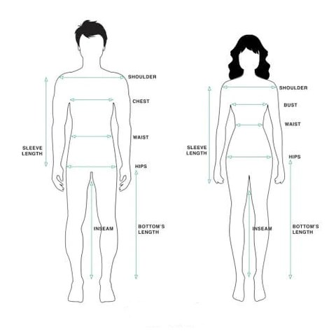 How to Measure Yourself for Vintage Clothing  Fox on the