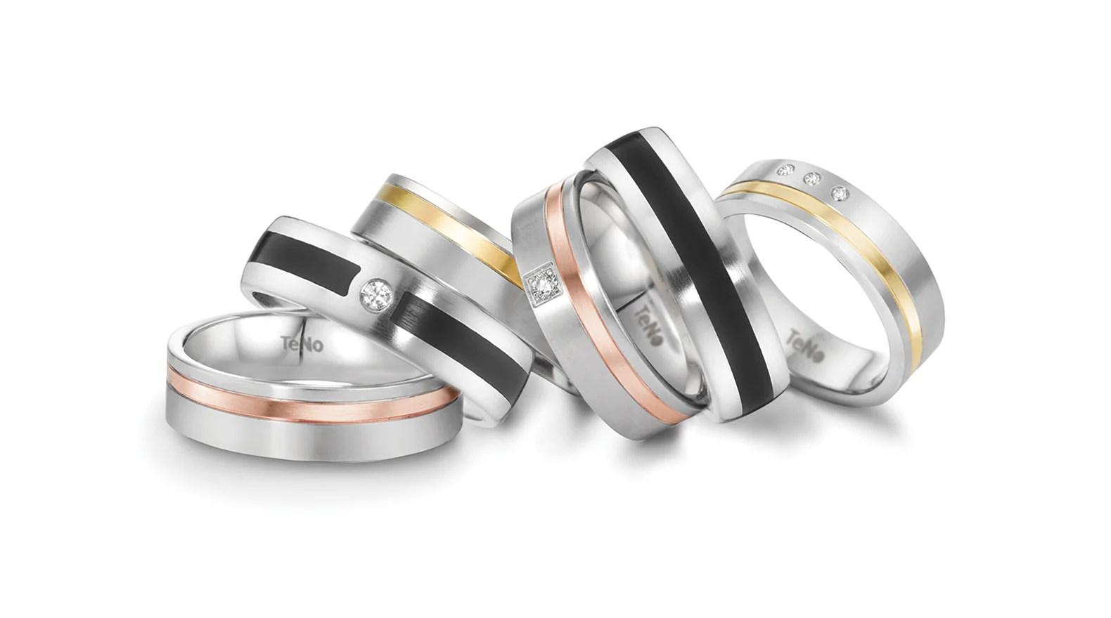 Wedding Rings - Bands Men' Jewelry