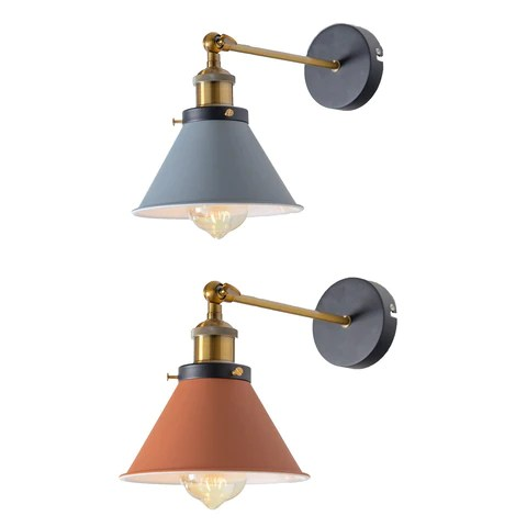 vintage industrial wall sconce lights
