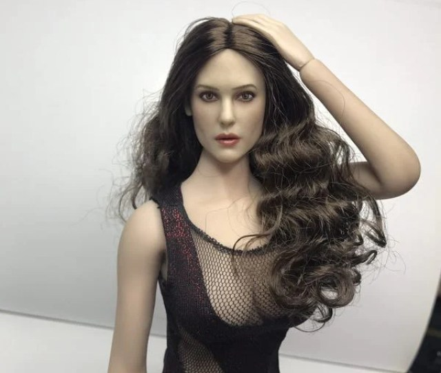 1 6 Monica Bellucci Head Sculpt Peak Toys Pt005 Hot Toys Female