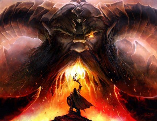 Surtr: Ruler of Muspelheim. Slew God Freyr. and Burnt the World – BaviPower