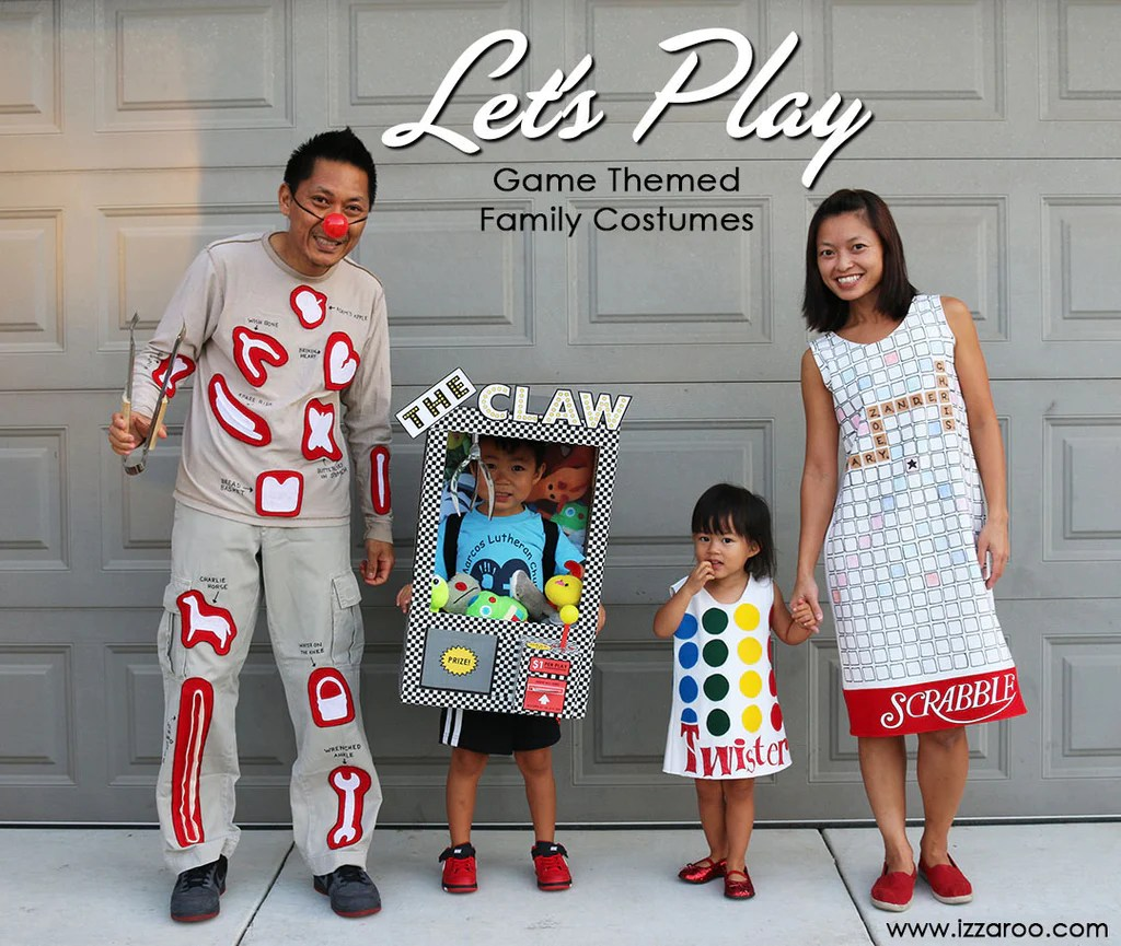 Halloween 2015 Diy Tutorials Family Games Themed