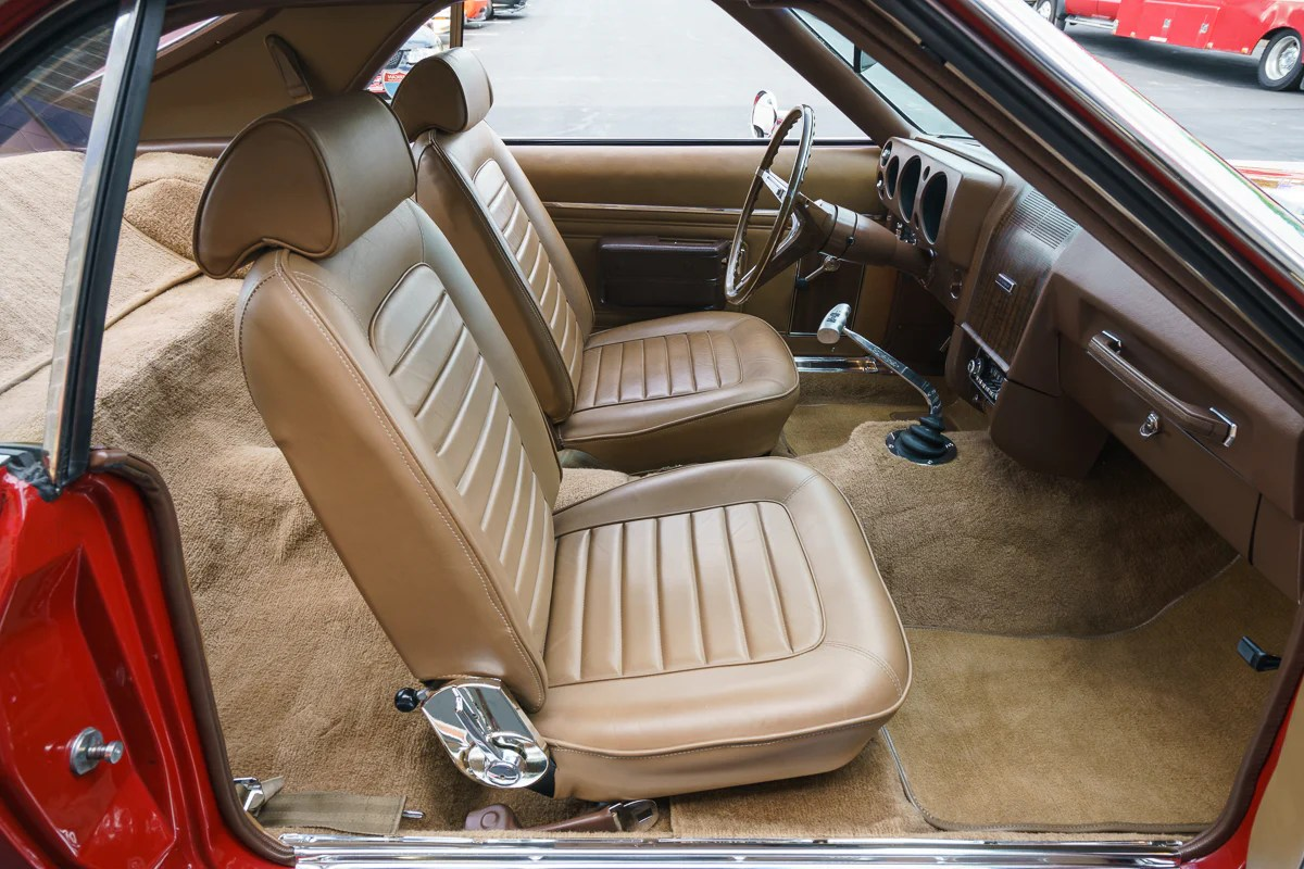 1969 AMC AMX Legendary Auto Interiors Bucket Leather Seat