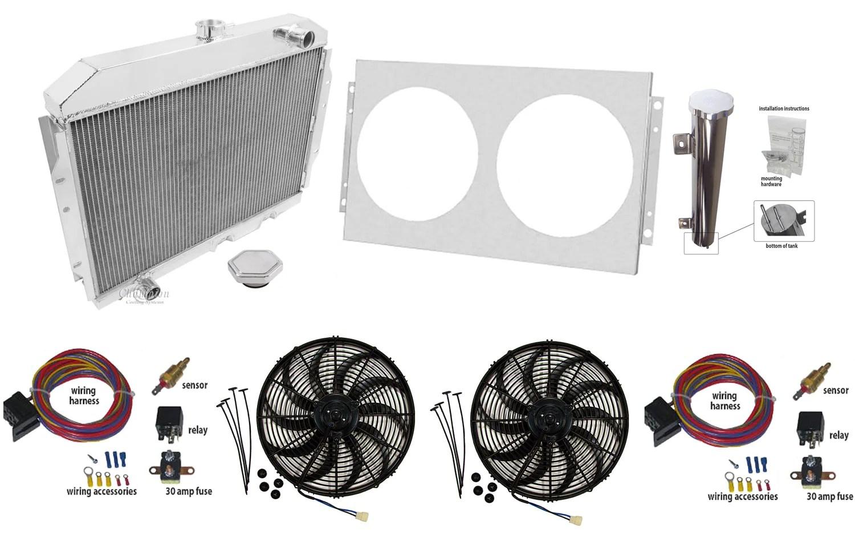 medium resolution of 1958 1988 amc champion 3 row not oe fit aluminum radiator master kit cools up to 800hp