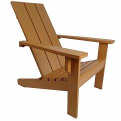 Modern Adirondack Chair High Metal Stool Evergreen Patio
