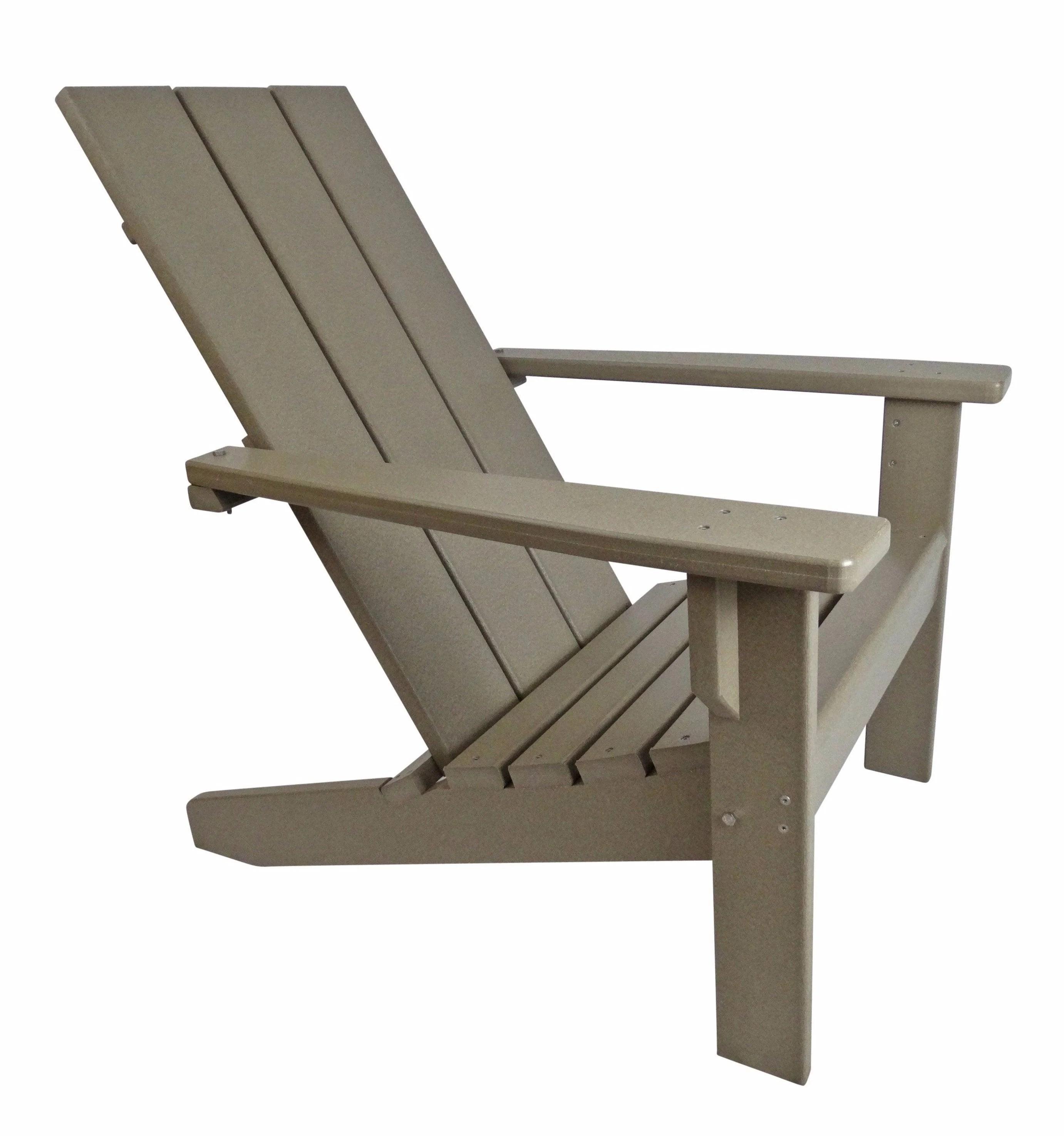 modern style adirondack chairs timber ridge chair evergreen patio