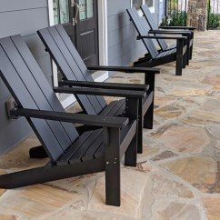Modern Adirondack Chair Two Seater Lawn Evergreen Poly Furniture Patio