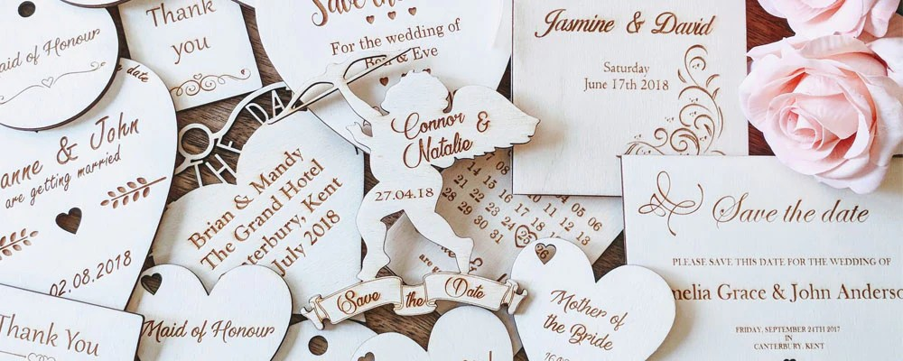 Personalised Wooden Wedding Gifts