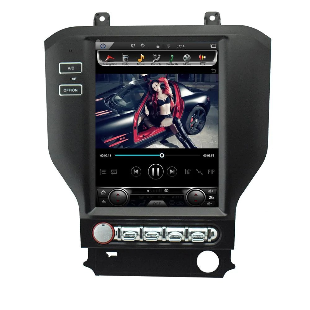 hight resolution of 10 4 vertical screen android radio for ford mustang s550 phoenix android radios