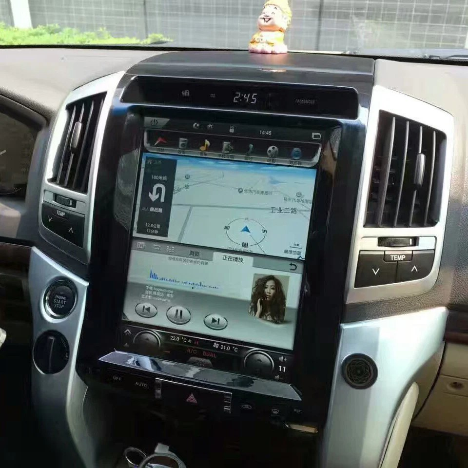 2006 Ford F150 Radio Wiring Harness 12 1 Quot Vertical Screen Android Navi Radio Toyota Land