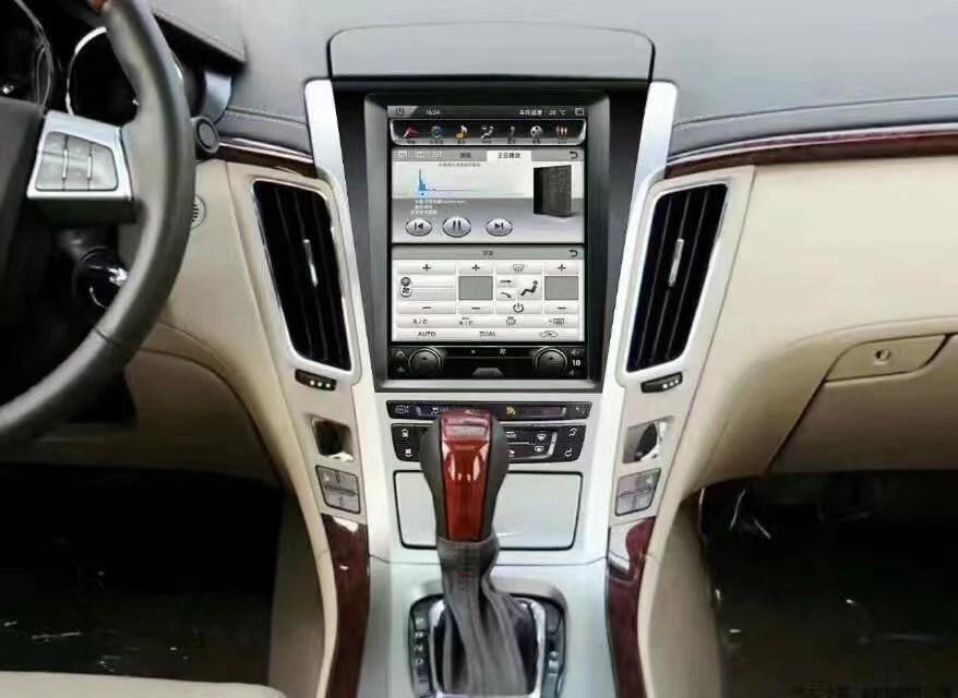 2007 Cadillac Srx Radio Wiring 10 4 Quot Tesla Style Vertical Screen Android Navigation Radio