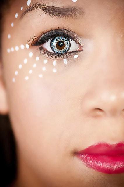 Glamour Aqua Contact Lens Colourvue Jpg