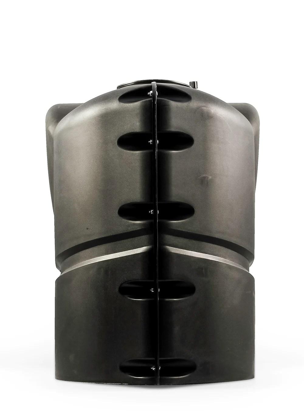 Pound Lp Gas Dual Tank Cover - Black United Rv