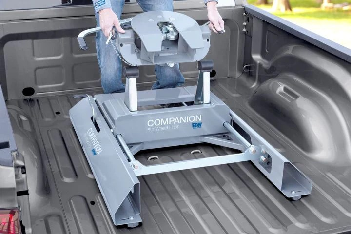 2015 Dodge Ram Trailer Wiring Companion Slider 5th Wheel Hitch 20k Rvk3405 United Rv
