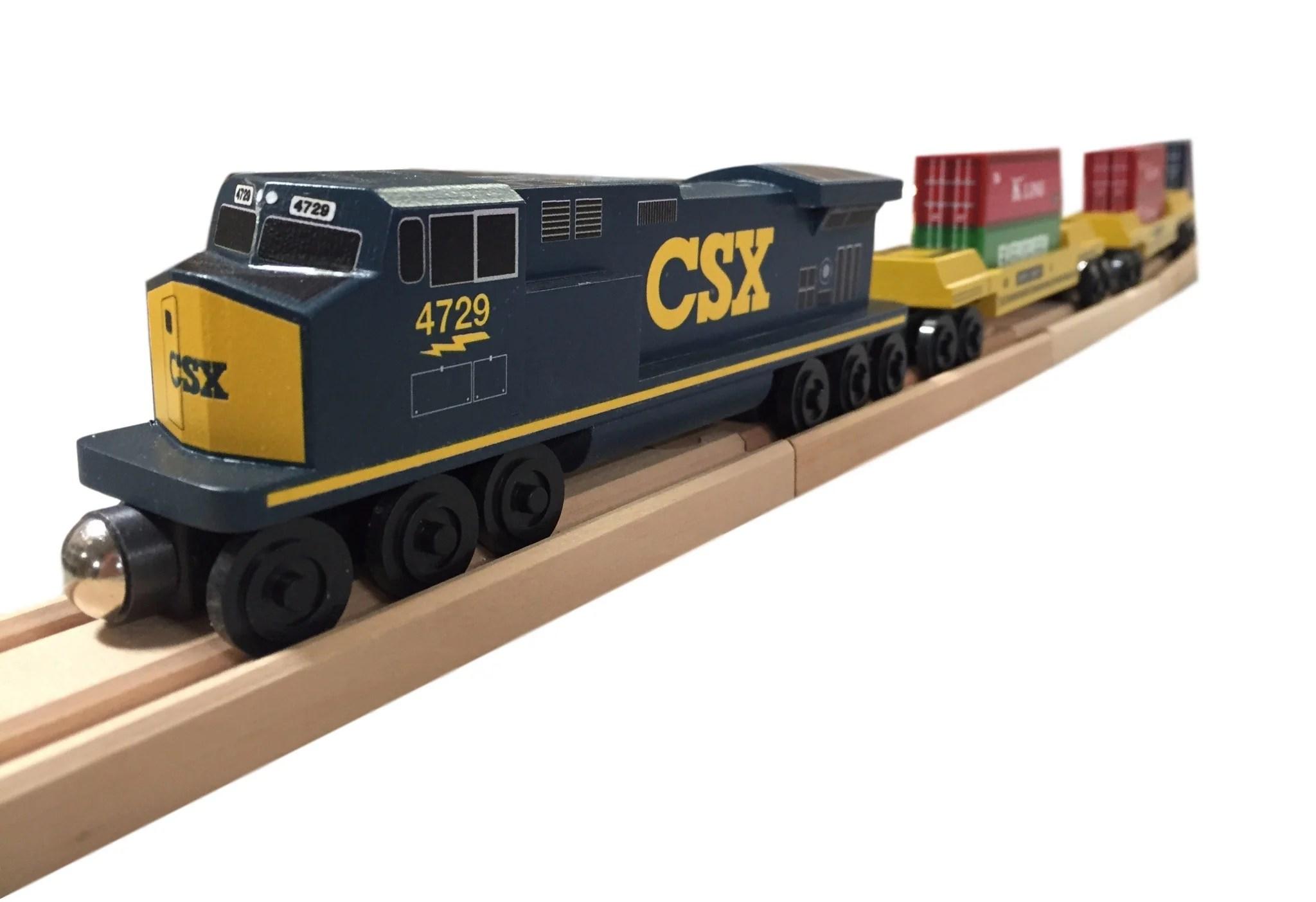 Csx Wooden Train Run Year Of Clean Water