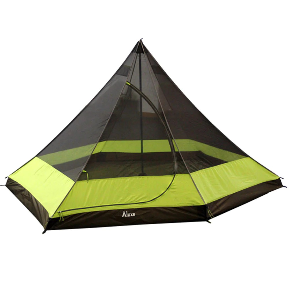 Hexpeak 2 Person Tipi Double Inner Tent Luxe Hiking Gear