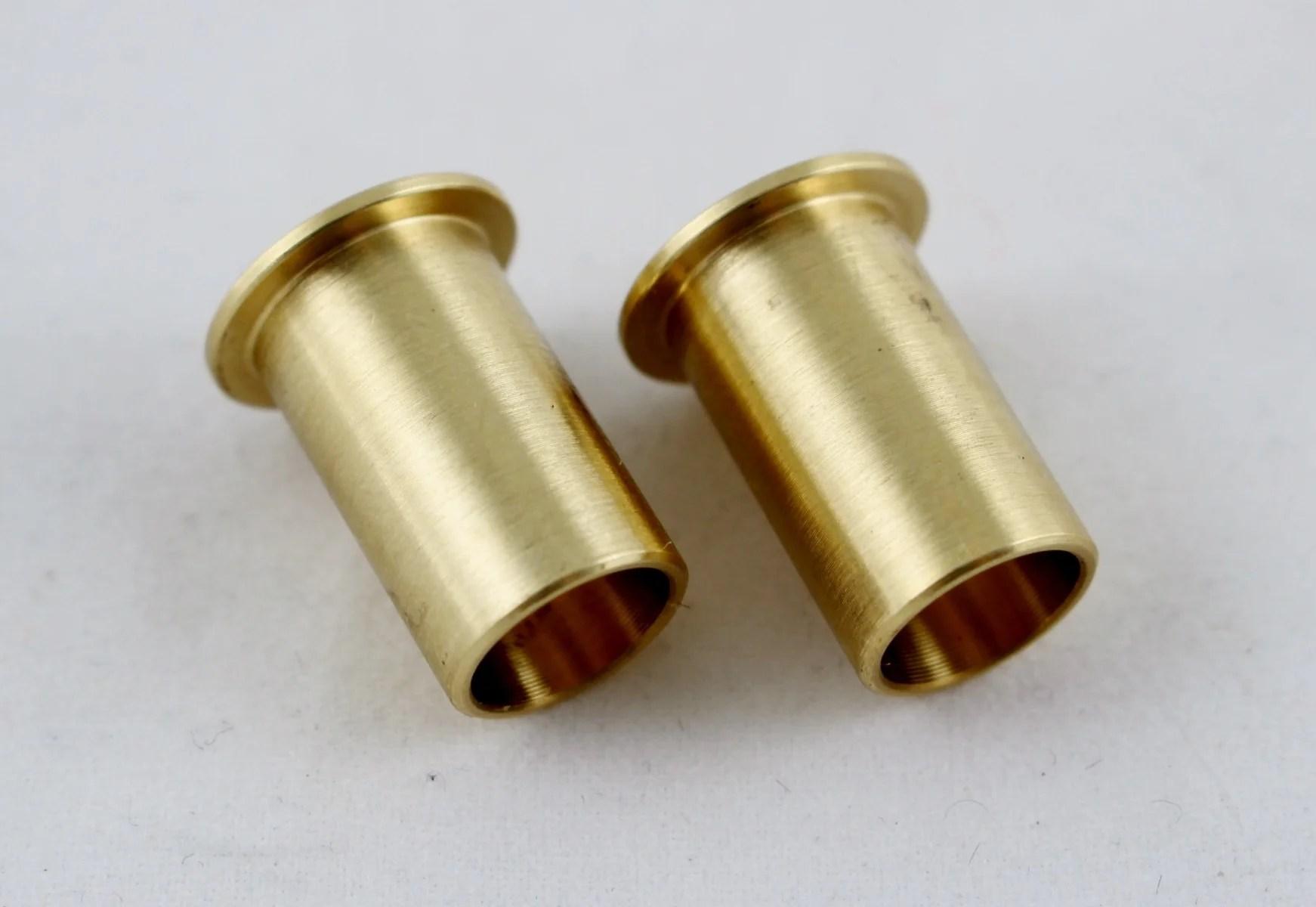 89 98 cummins bell crank throttle shaft linkage bushings pair brass upgrade [ 1742 x 1200 Pixel ]