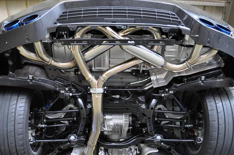 hks legamax premium exhaust for r35 gtr