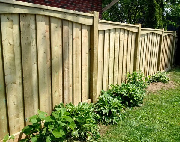 wood fences campbell fence