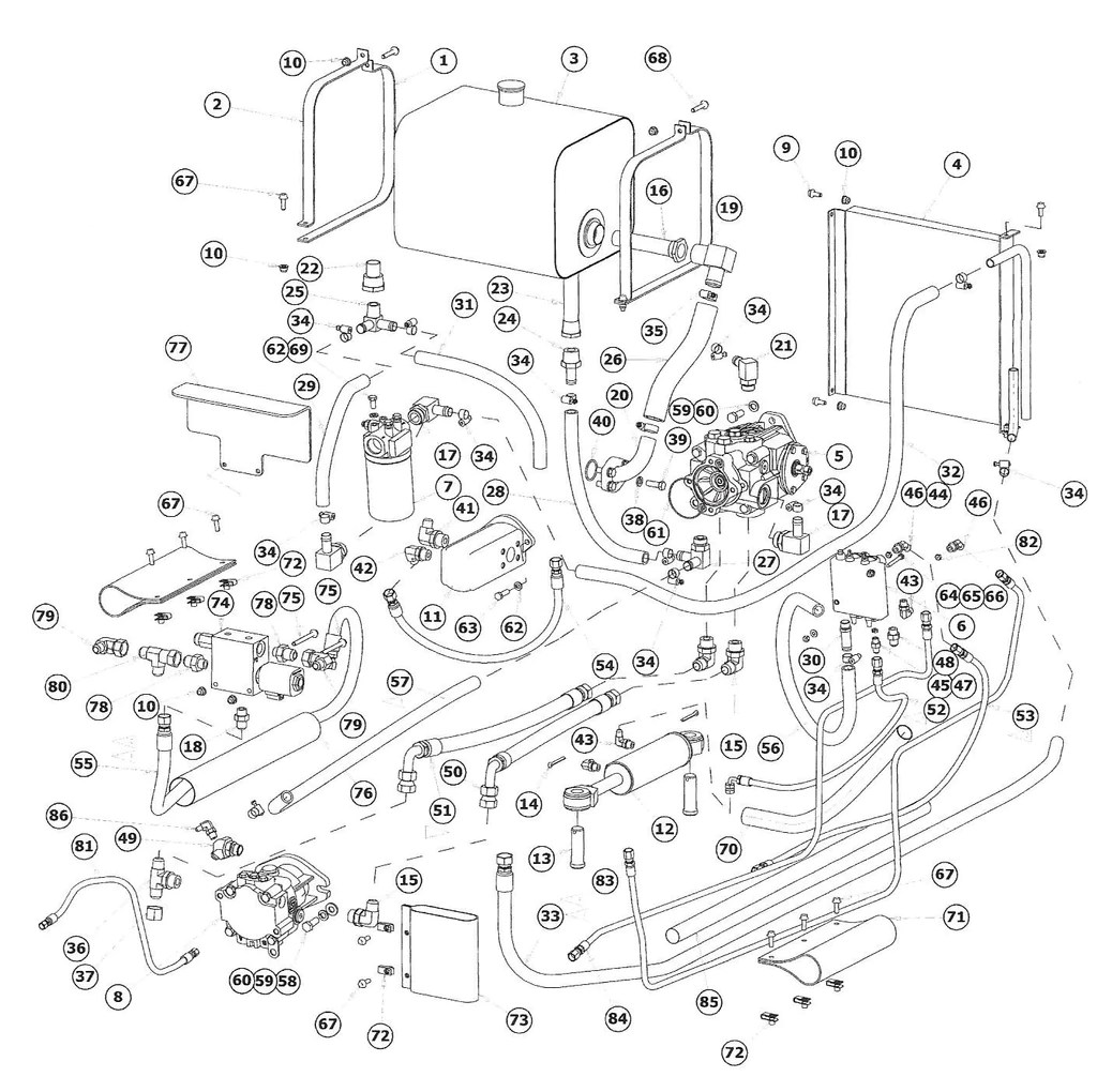 astec maxi sneaker d and e hydraulic schematic [ 1024 x 1020 Pixel ]