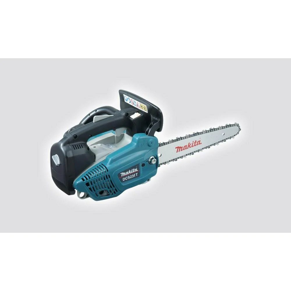 makita dcs231t 22cc lightweight top handle petrol chainsaw new equipment ses direct ltd [ 1000 x 1000 Pixel ]