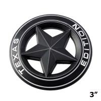 Big Badge Car Fender Trunk Lid Door Grille 3D Texas ...