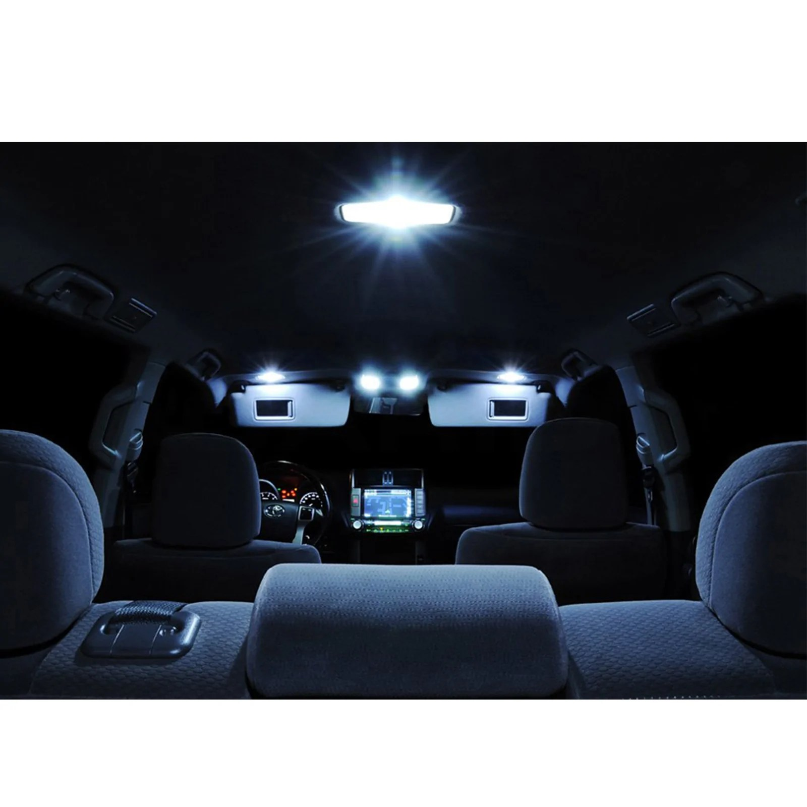 medium resolution of  2001 2003 6 x led full interior lights package kit for acura cl type