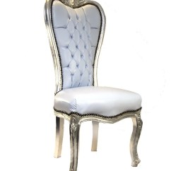 Throne Chair Cover P Kolino Canada Bride And Groom White Leather With Silver Finish Ha Hire