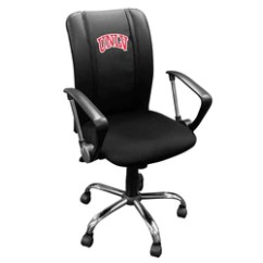Las Vegas Office Chairs Plastic Tables And University Of Nevada Zipchair Curve Task Chair With Unlv Rebels Logo