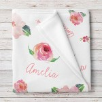 Personalized Baby Blankets Tagged Custom Baby Blanket Stork Wares