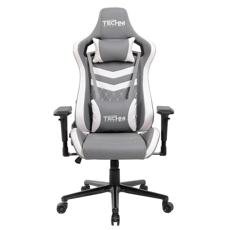 gaming chairs costco beach backpack techni sport ts83 white esports chair