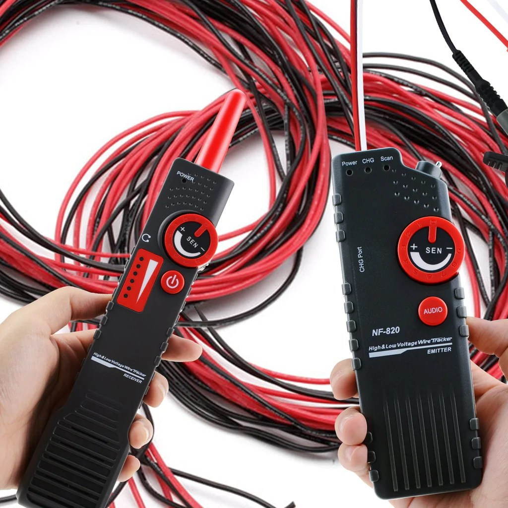 hight resolution of  nf 820 underground cable tracker detector tester for ac 220v high low voltage