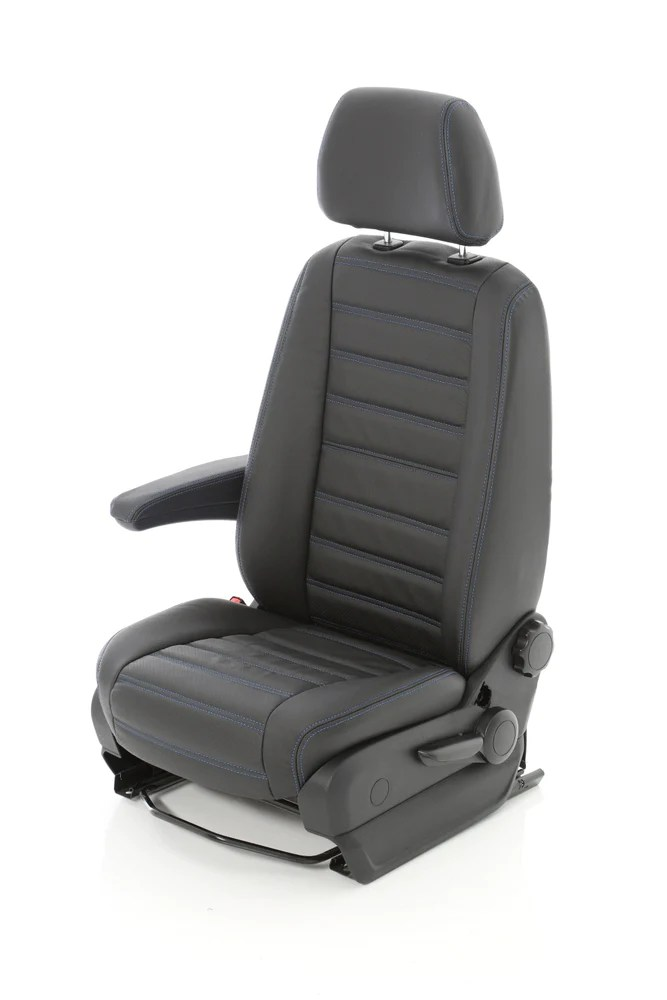 sofa sleeper cover cb2 piazza mercedes sprinter van custom front seat cover, leather ...