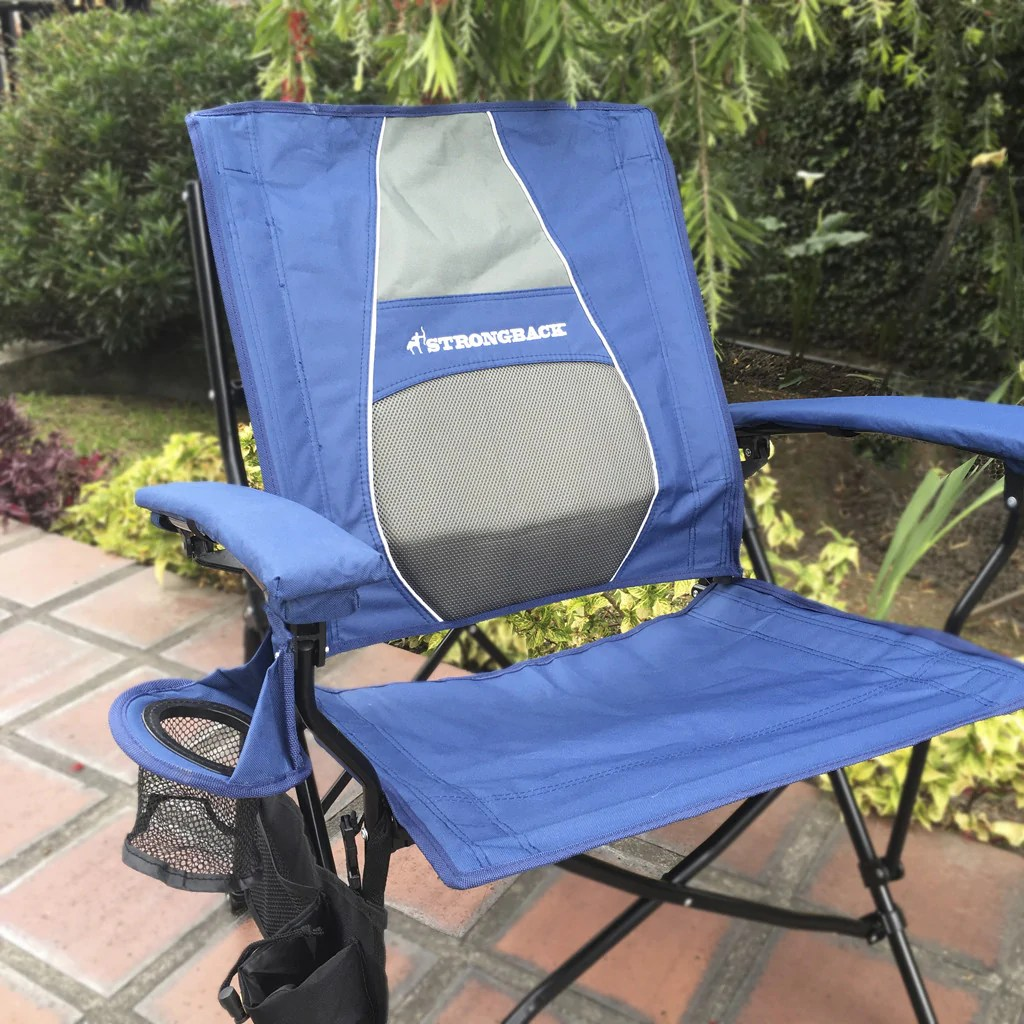 strong back chairs rubber chair glides strongback elite navy grey the best folding strongbackchair
