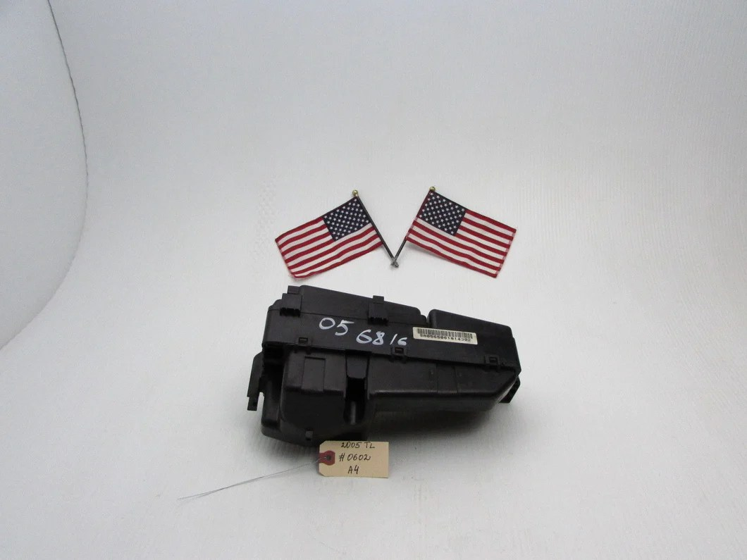 hight resolution of 04 05 06 acura tl fuse box engine relay compartment fusebox under hood oem a4